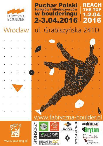 Puchar Polski Seniorów i Młodzieżowców w bulderingu