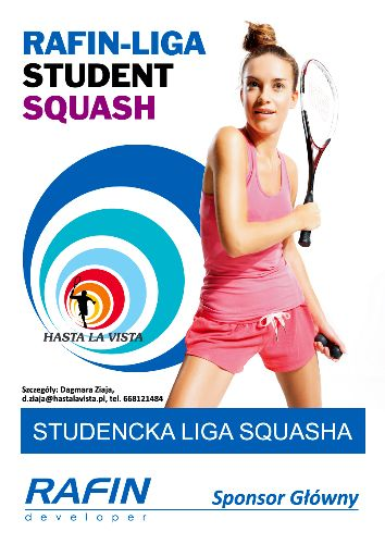 XE Rafin Liga Student – studencka liga squasha