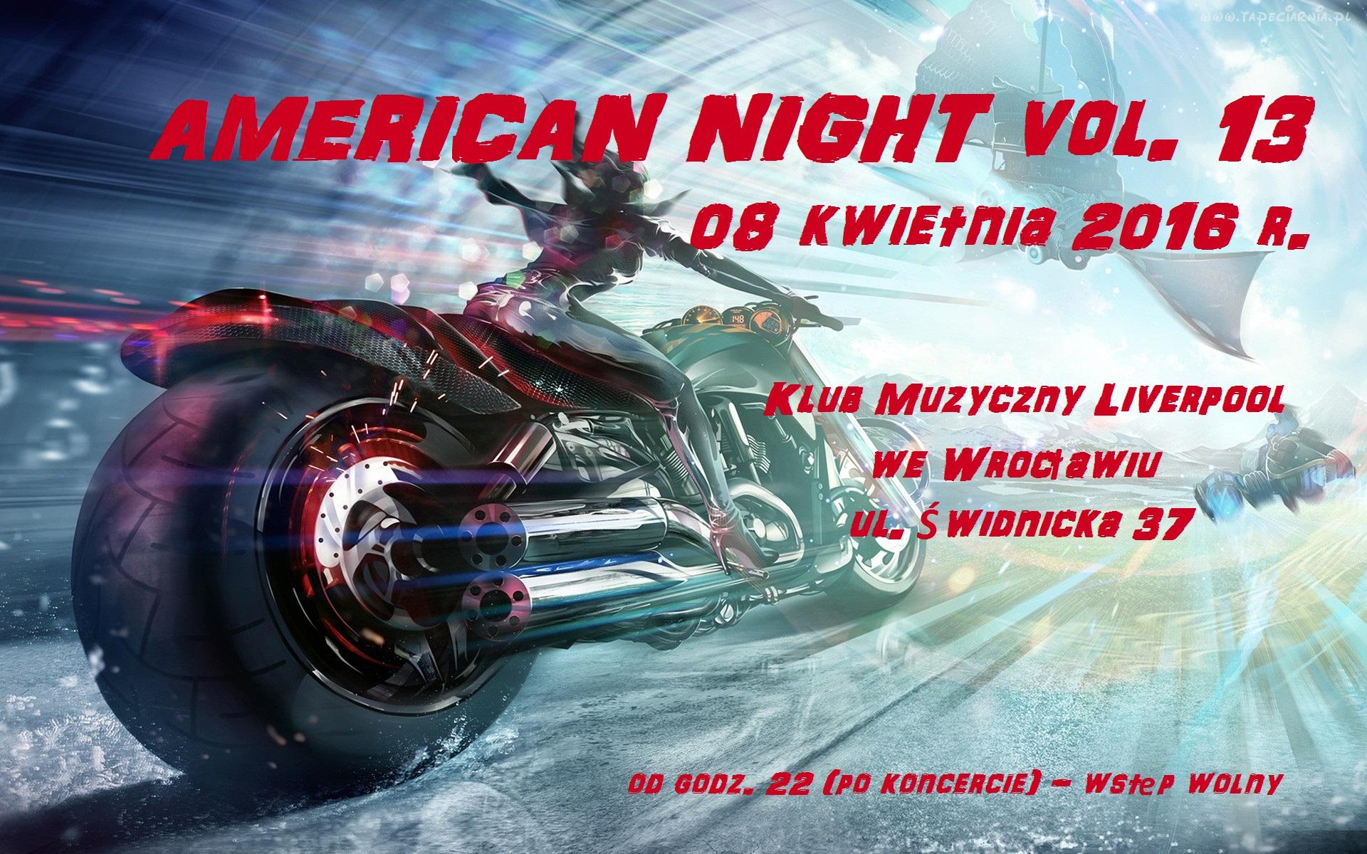 AMERICAN NIGHT vol. 13