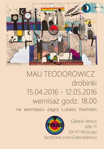 Drobinki – wernisaż wystawy prac Mau Teodorowicz
