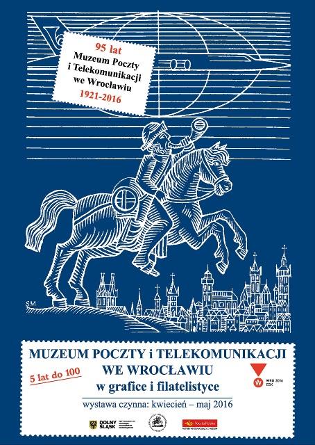 Muzeum Poczty i Telekomunikacji we Wrocławiu  w grafice i filatelistyce