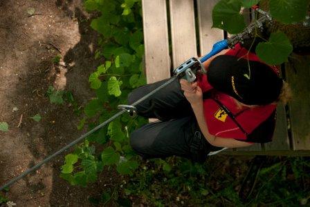 Park linowy na Wyspie Opatowickiej – otwarcie sezonu