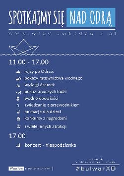 Piknik nad Odrą – festyn na bulwarze Dunikowskiego