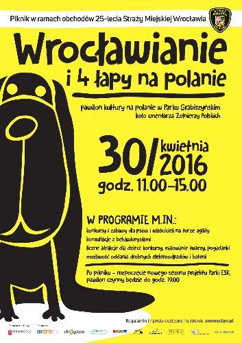 Piknik Wrocławianie i 4 łapy na polanie