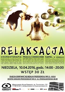 Relaksacja: warsztaty i koncert