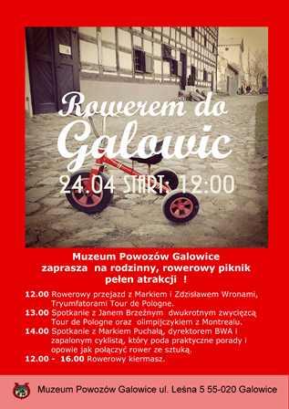 Rowerem do Galowic