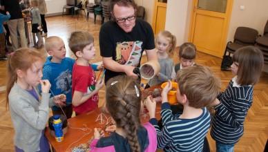 Warsztaty i pokaz dla dzieci: Instrumenty Świata
