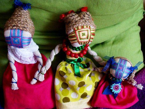 Warsztaty z tworzenia ukraińskich lalek-motanek
