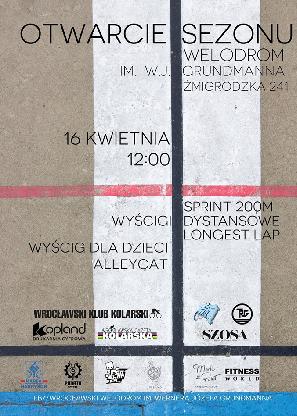 Otwarcie Sezonu na Wrocławskim Torze Kolarskim Welodrom