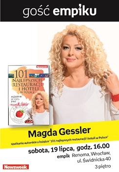 Spotkanie z Magda Gessler