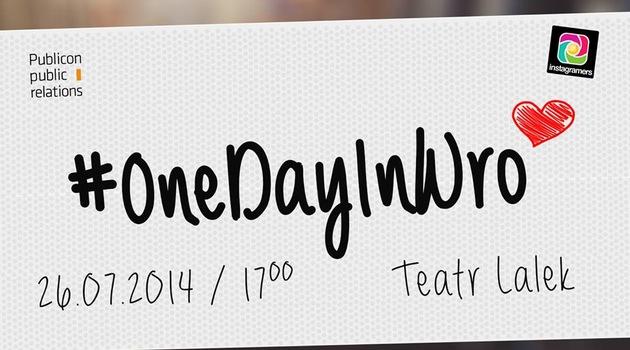 #OneDayInWro czyli bądź autorem zdjęć do filmu o Wrocławiu