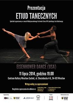 Występ amerykańskiego zespołu tańca Eisenhower Dance