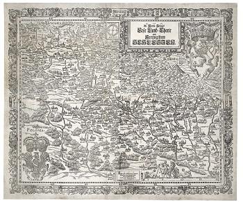 Mapa Śląska Martina Helwiga w kartografii śląskiej (1561-1889) w Pałacu Królewskim