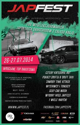 JAPFEST - największy w Polsce festiwal japońskiej motoryzacji!