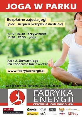 Bezpłatne zajęcia jogi w każdą niedzielę wakacji