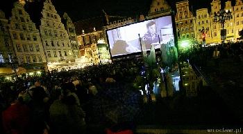 Kino plenerowe na Rynku