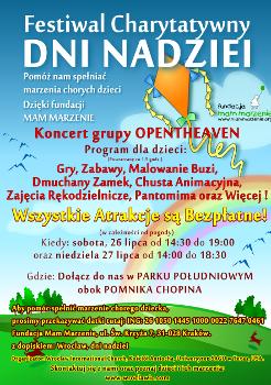 Festiwal charytatywny Dni Nadziei
