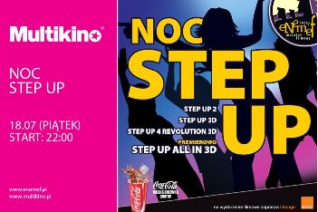 ENEMEF: NOC STEP UP w Multikinie