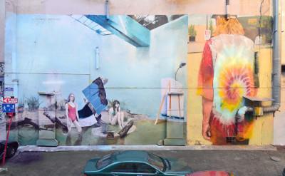 MIASTOPROJEKT otwarte laboratorium ulicy w ramach OUT OF STH i pokaz nowych murali