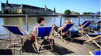 Plaże we Wrocławiu