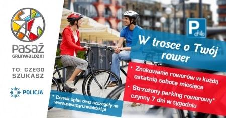 Akcja znakowania rowerów