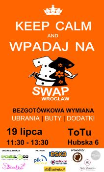 Bezgotówkowa wymiana ubrań - Wakacyjny SWAP Lipcowy