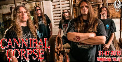 Cannibal Corpse + support w Alibi