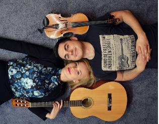 Koncert duetu akustycznego Aname w Starej Piwnicy