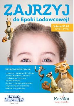 """Nadciąga """"Epoka Lodowcowa"""" w Centrum Korona"""