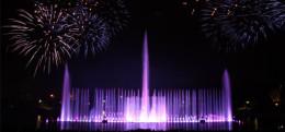 Wrocławska fontanna multimedialna – pokaz specjalny