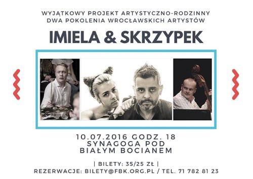 Koncert rodzinny: Imiela & Skrzypek