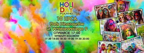 Wrocław Holi Day – Dzień Kolorów we Wrocławiu