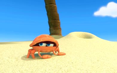 Kraby na plaży – wakacyjny poranek we WRO