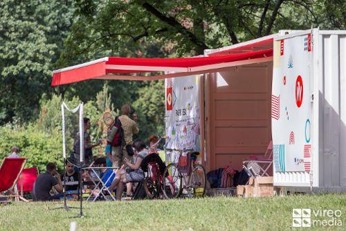 Park w Leśnicy: trening w parku i koncert muzyki country