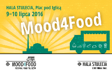 FESTIWAL  FOOD TRUCKÓW Mood4Food przy Hali Stulecia