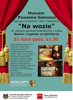 """Spektakl """"Na wozie"""" w Galowicach"""