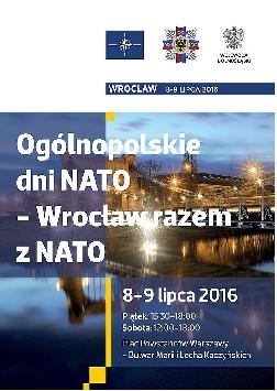"""""""Ogólnopolskie Dni NATO – Wrocław razem z NATO"""""""