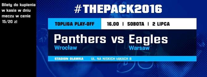 Półfinał Topligi - Panthers vs. Warsaw Eagles
