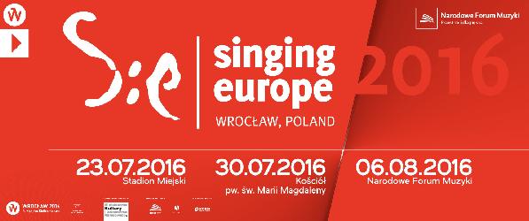 Singing Europe