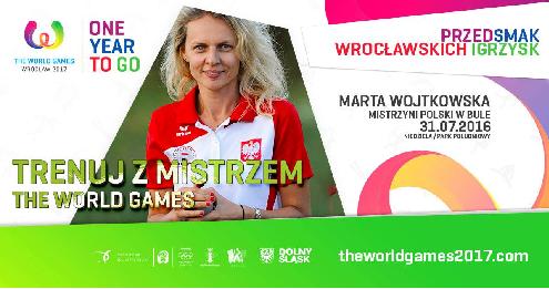 """""""Trenuj z Mistrzem The World Games"""": bule z mistrzynią Polski, Martą Wojtkowską"""