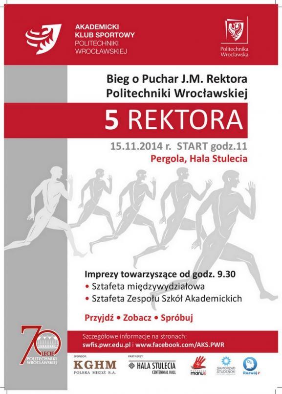 Bieg o Puchar rektora Politechniki Wrocławskiej