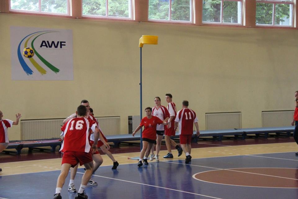 Mecze korfballa - AZS Uniwersytet Wrocławski - AZS Balluff Wrocław