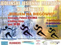 """Jedliński Jesienny Maraton na Raty 2014 """"Biegiem na Biegówki"""""""