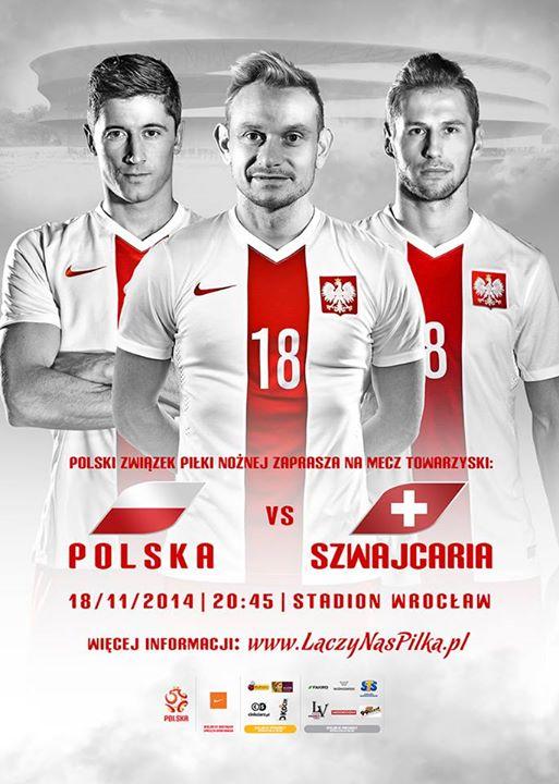Mecz piłkarski Polska - Szwajcaria