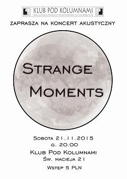 Koncert grupy Strange Moments