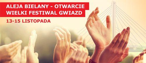 Otwarcie Alei Bielany – Wielki Festiwal Gwiazd