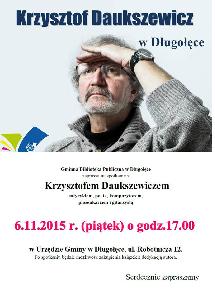 Spotkanie z Krzysztofem Daukszewiczem
