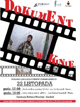 Bezpłatne pokazy filmów dokumentalnych do CKWZ