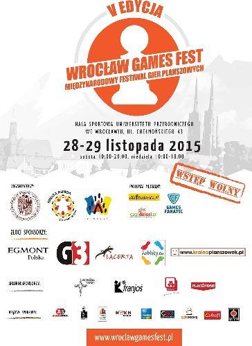 Festiwal Gier Planszowych – WROCŁAW GAMES FEST 2015