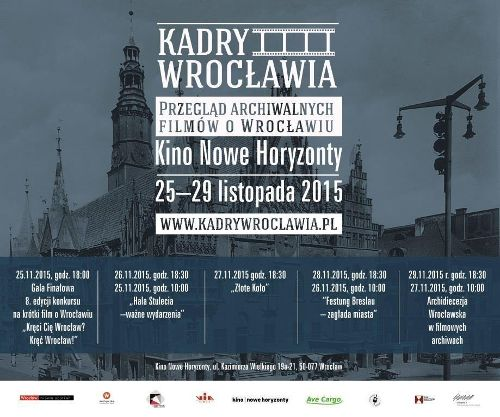 Kadry Wrocławia 2. przegląd filmów archiwalnych o Wrocławiu
